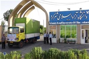 ارسال ۶۰ هزار بطری آب معدنی به خوزستان توسط دانشگاه آزاد اسلامی