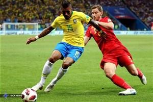 پائولینیو: باخت به بلژیک سختتر از شکست 7 بر یک مقابل آلمان بود