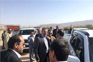 فلاحت پیشه از پایانه مرزی مهران بازدید کرد