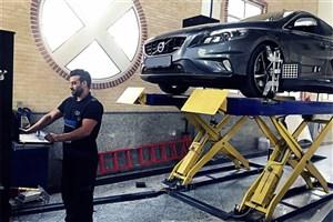عیب یابی رایگان و گارانتی سواری های ولوو در ایران