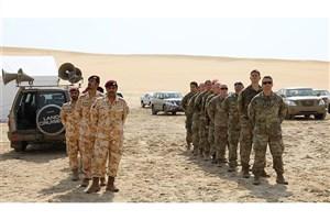 قطر و آمریکا رزمایش مشترک برگزار می کنند