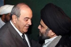 گفتگوی صدر و علاوی برای تشکیل کابینه آتی عراق