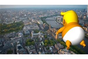 ترس شدید ترامپ را به حومه لندن کشاند