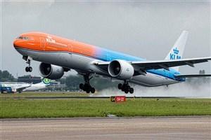 توقف پروازهای شرکت هواپیمایی KLM به ایران از اول مهر