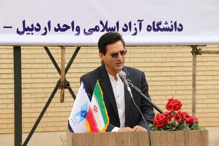 کلنگ دومین دانشجوسرای خیری دانشگاه آزاد اسلامی واحد اردبیل