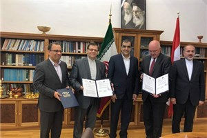 Iran, Austria Ink Co-op MoU on Medical Sciences