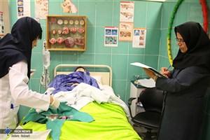 نخستین آزمون عملی بالینی دانشجویان پرستاری دانشگاه علوم پزشکی آزاد اسلامی تهران آغاز به کار کرد