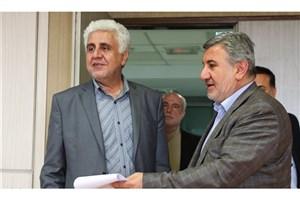 بازدید فرهاد رهبر از دفتر مرکزی گزینش دانشگاه آزاد اسلامی