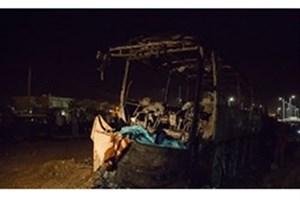 تأیید صلاحیت شغلی و مدارک راننده تانکر حادثه سنندج/ اتوبوس و کامیون معاینه فنی داشتند