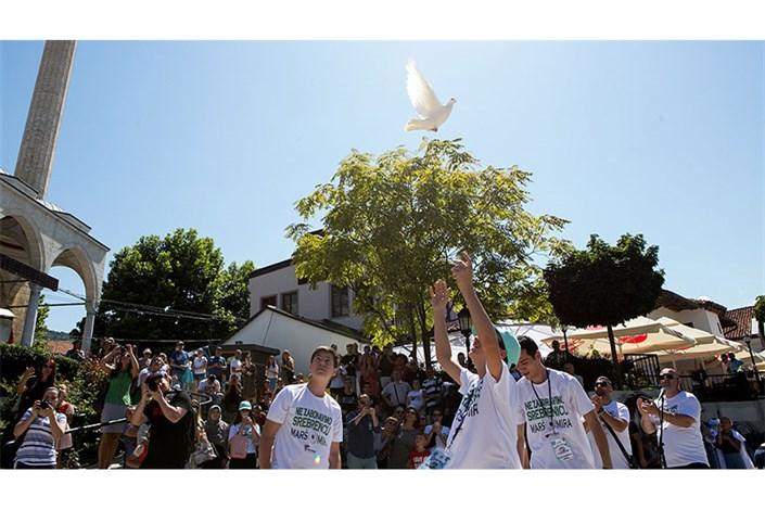 مراسم گرامیداشت قربانیان نسلکشی صربها برگزار شد