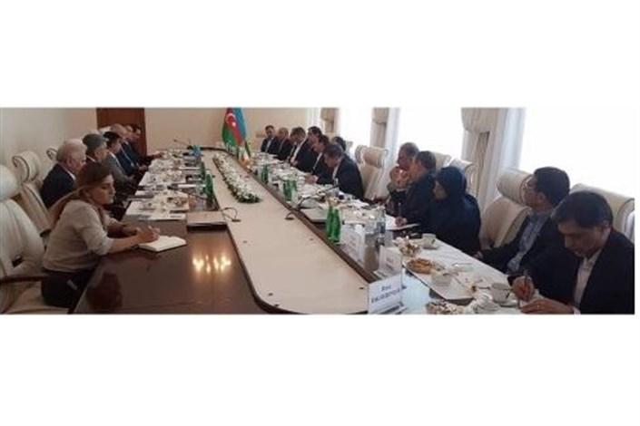 وزیر بهداشت در باکو