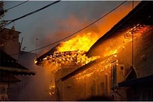 مصدومیت 18 نفر در حادثه آتشسوزی مسجد جامع  ساری