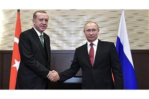 """دیدار"""" اردوغان"""" و """"پوتین"""" در آینده ای نزدیک"""