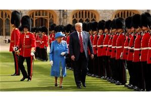 خانواده سلطنتی انگلیس به دیدار ترامپ نرفت