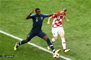 پیروزی یکنیمهای فرانسه مقابل کرواسی