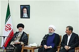 دیدار رئیسجمهور و اعضای هیأت دولت با مقام معظم رهبری