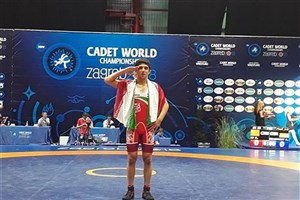 Dezful SAMA IAU Student Bags Gold at 2018 Cadet Wrestling World C'ships