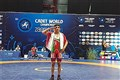 Dezful SAMA IAU Student Bags Gold at 2018 Cadet Wrestling World C'ships