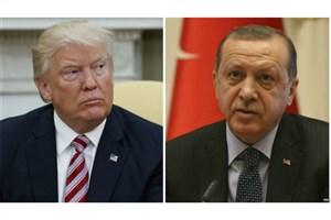 گفت وگو ترامپ با اردوغان