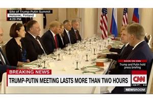ترامپ: نشست هلسینکی، آغاز خوبی بود