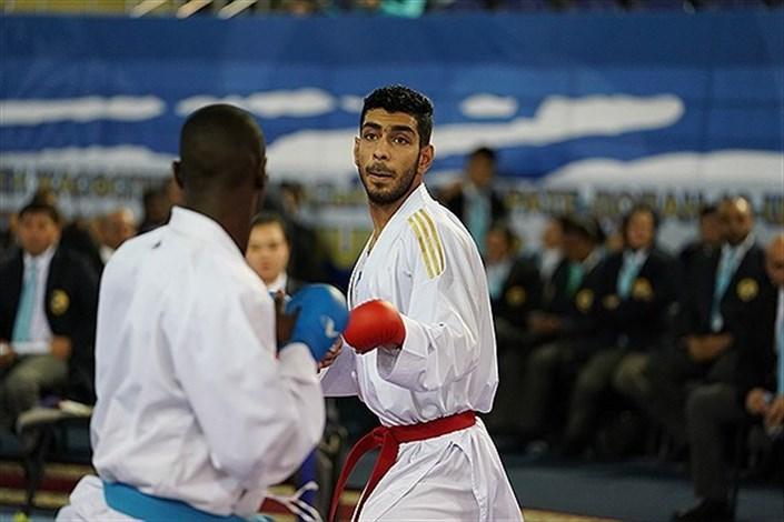 Arak SAMA IAU Student Wins Gold in 15th Asian Karate C'ships