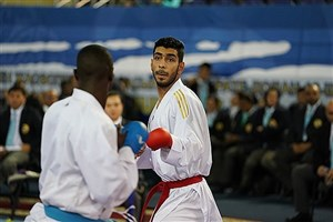 Arak SAMA IAU Student Wins Gold in 15th Asian Karate C'ships