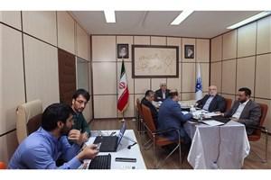 اولین جلسه آنلاین دکتر رهبر و روسای دانشگاه آزاد اسلامی