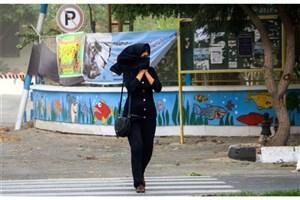 امروز تهرانی ها منتظر افزایش  غلظت ذرات معلق و  خیزش گرد و خاک  باشند