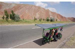 Solar Bikers Tour Parts of Iran en Route from France to China