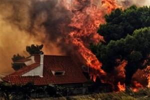 74 کشته در آتش سوزی گسترده یونان