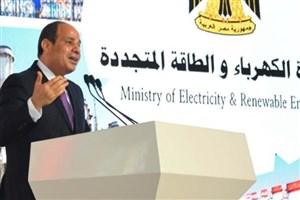 رئیس جمهور مصر: برای پیشرفت کشور، نیاز باشد یک وعده غذا می خورم