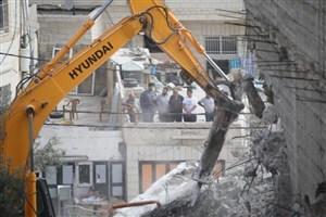 تخریب اماکن  فلسطینی ها در قدس شرقی