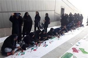 نقاشی یک کیلومتری در حمایت از کودکان یمن