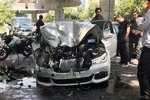 راننده  حادثه اتوبان بابایی  مست بود/ ۳ کارگر شهرداری کشته شدند