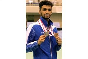 دانشجوی دانشگاه آزاد واحد لاهیجان مدال برنز کاراته دانشجویان جهان را کسب کرد