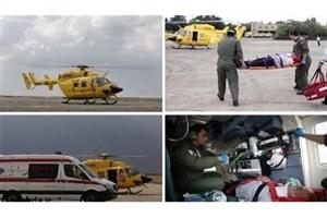 نجات 138 مصدوم  توسط تکنسین های اورژانس هوایی تهران با ۱۱۹ سورت پرواز