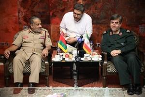 توسعه همکاری سپاه و نیروهای مسلح عمان در زمینه بهداشت و آموزش پزشکی