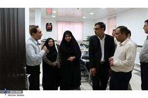 مدیر کل دفتر مطالعات اجتماعی استانداری فارس از دانشگاه آزاد اوز بازدید کرد