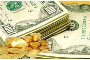 نوسانات قیمت طلا و سکه در بازار / دلار 200 تومان ارزان شد+ جدول