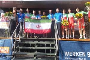 قهرمانی تیم دوچرخه سواری نیروهای مسلح ایران در سیزم