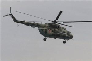 سقوط بالگرد روسی در سیبری
