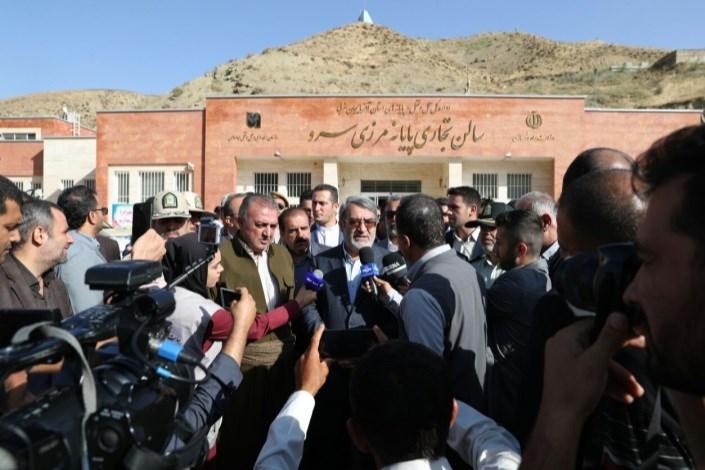 بازدید وزیر کشور از مناطق مرزی