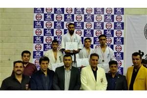 افتخارآفرینی دانشجوی دانشگاه آزاد اسلامی اوز در مسابقات کیوکوشین قهرمانی کشور