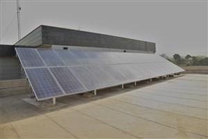 اتمام پروژه احداث نیروگاه خورشیدی در آبفای منطقه چهار