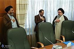 دیدار جمعی از مدیران رسانه های دانشگاه آزاد با آیتالله خاتمی
