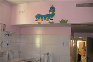 بخش کودکان بیمارستان امیرالمومنین(ع)  به محیطی دوستانه تبدیل شد