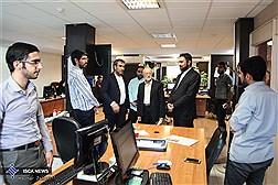 بازدید مرتضی نبوی از مرکز رسانه های دانشگاه آزاد