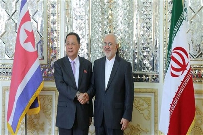 وزیر خارجه کره شمالی با ظریف دیدار کرد