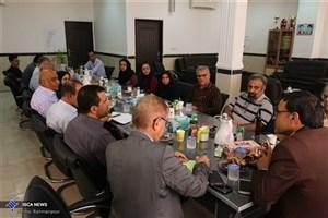 تجلیل مقام های اجرایی و فرهنگی شهر از رسانه های دانشگاه آزاد اسلامی اوز