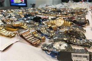 کشف و توقیف 5400 ساعت مچی لاکچری قاچاق در فرودگاه مهرآباد+عکس
